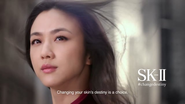SK-II *TANG WEI CHANGE DESTINY TVC