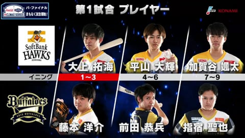 【eBASEBALL】eクライマックスシリーズ ファイナルステージ H-B 第1戦