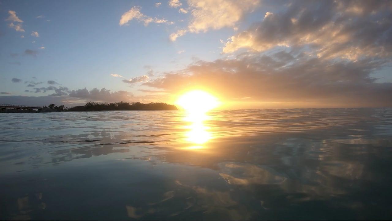 2021-02-26 Ouvea Sunset sur l eau