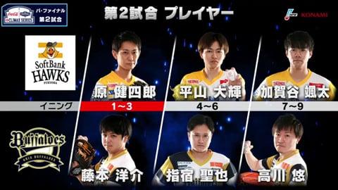 【eBASEBALL】eクライマックスシリーズ ファイナルステージ H-B 第2戦