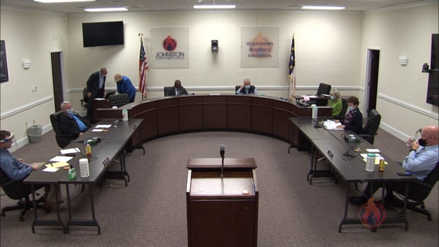 JC Board of Education Special Session - March 3, 2021