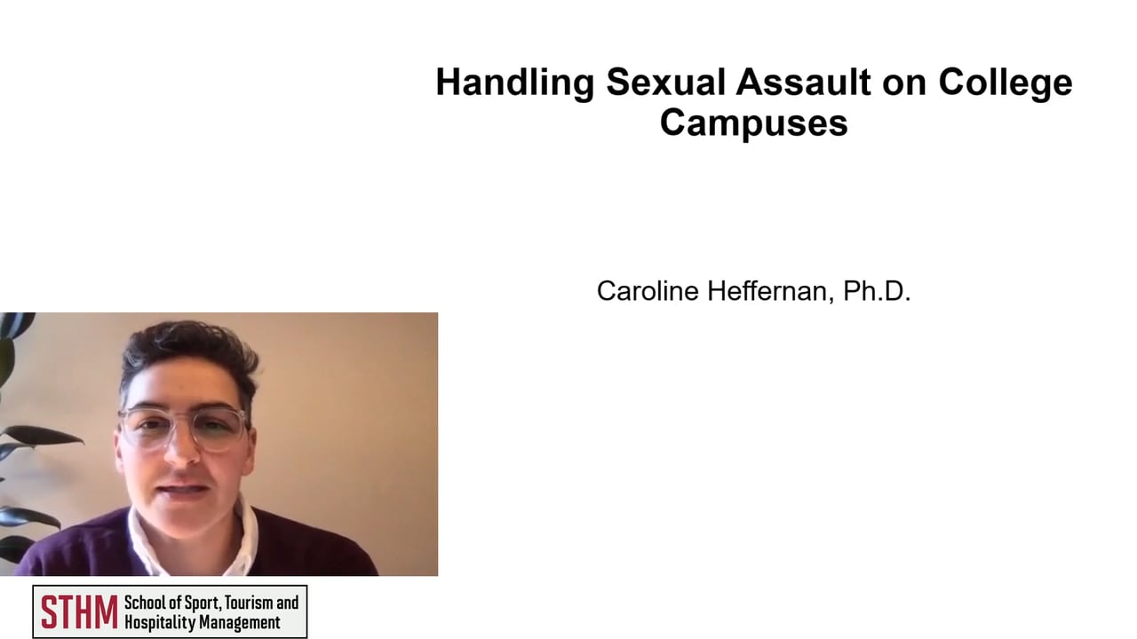 61997Handling Sexual Assault on College Campuses
