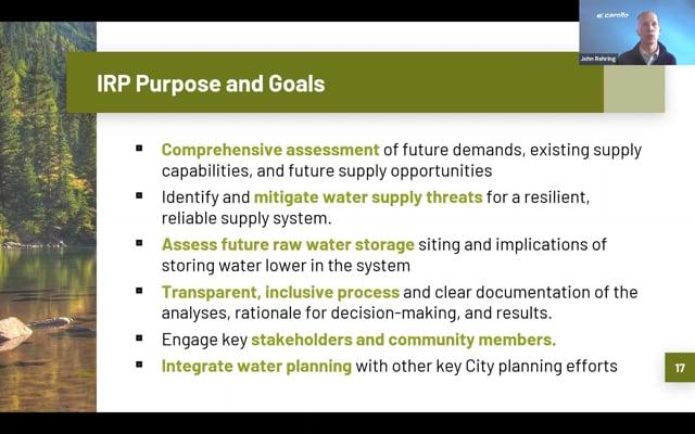 Community Water Public Engagement Three