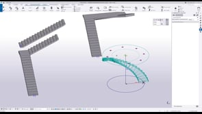 Concrete stairs tool