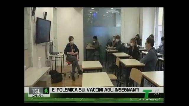 Telelombardia intervista il Direttore dr.Daniele Nappo sulla campagna vaccinale