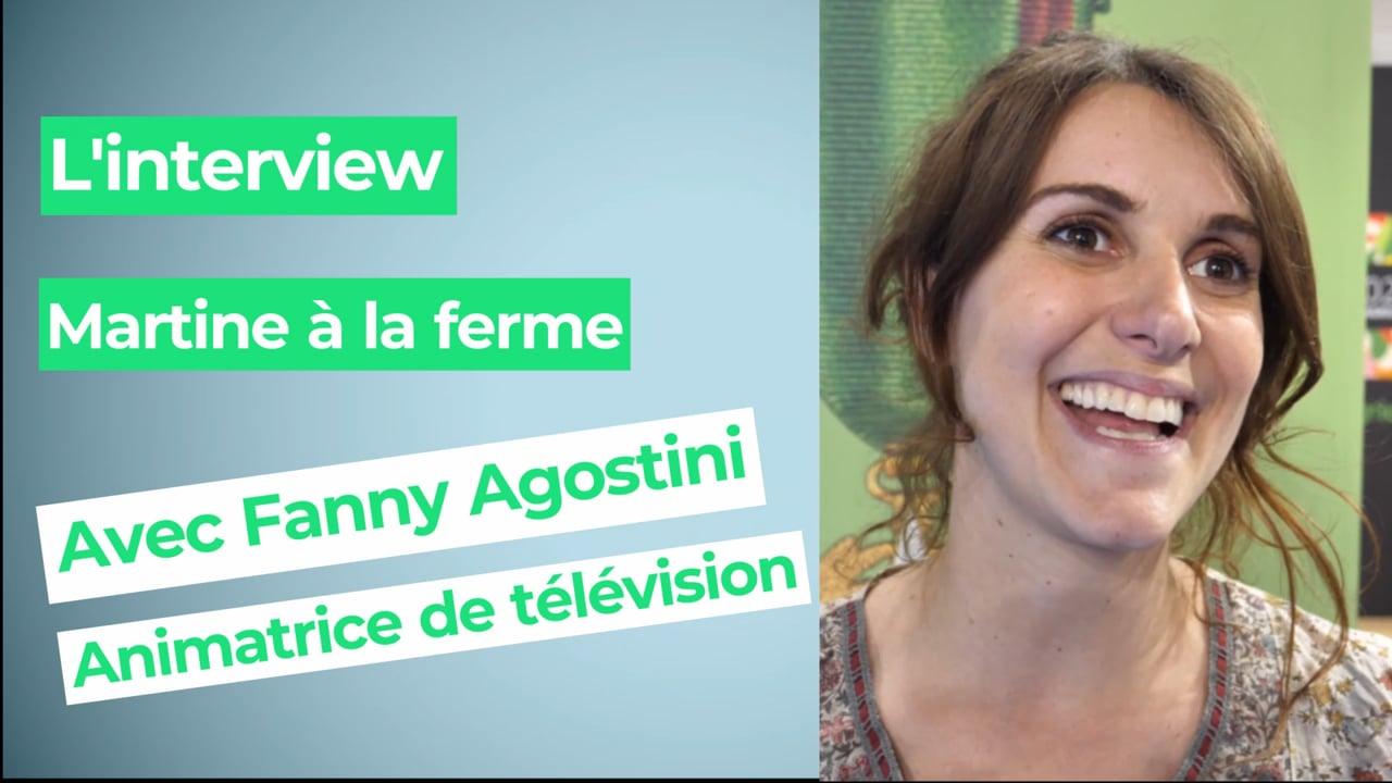 """Fanny Agostini, animatrice de télévision : """"Le métier de paysan est le métier le plus noble"""""""