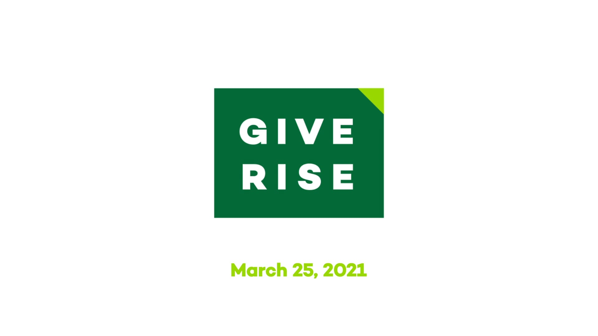 Eastern Michigan University   Give Rise Teaser