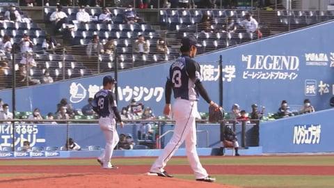 【6回裏】ライオンズ・吉川 1イニング2奪三振の好投を見せる!! 2021/3/6 M-L