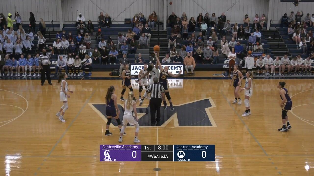 Varsity Girls Basketball vs Centreville Academy - 03-05-21