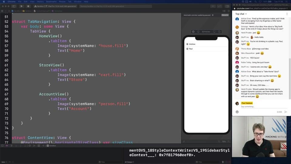 iPadOS sidebars and labels