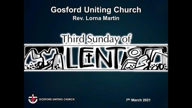 7th February 2021 - Rev. Lorna Martin