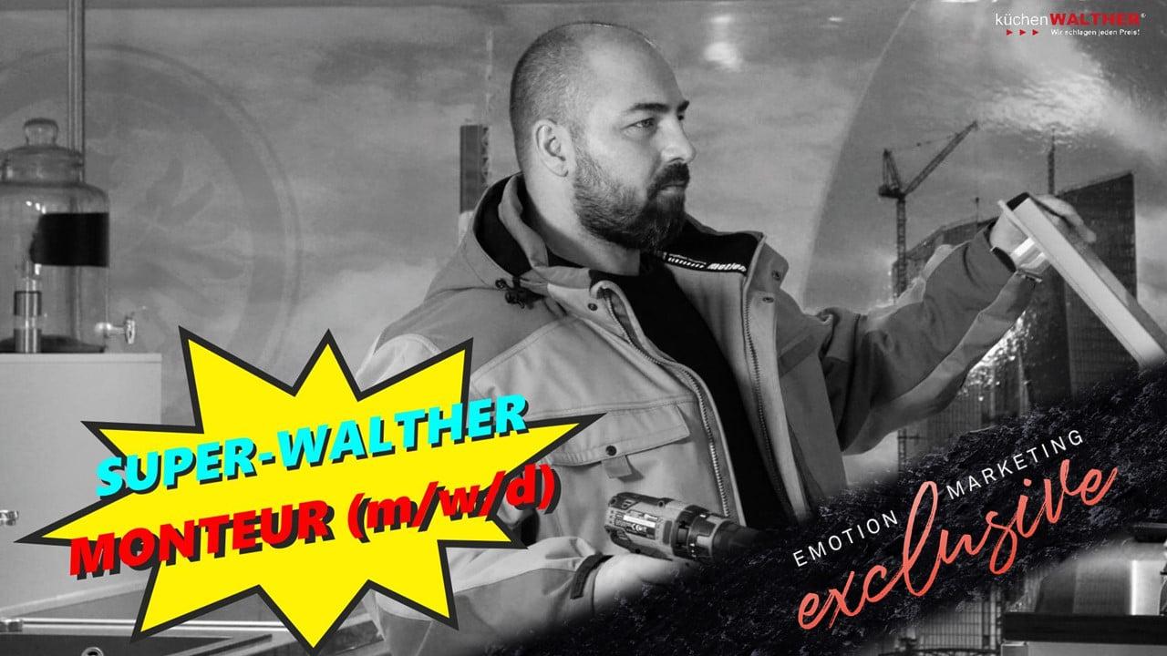 Statement im Personalmarketing! Die Küchen Walther Recruiting-Songs sind veröffentlicht!