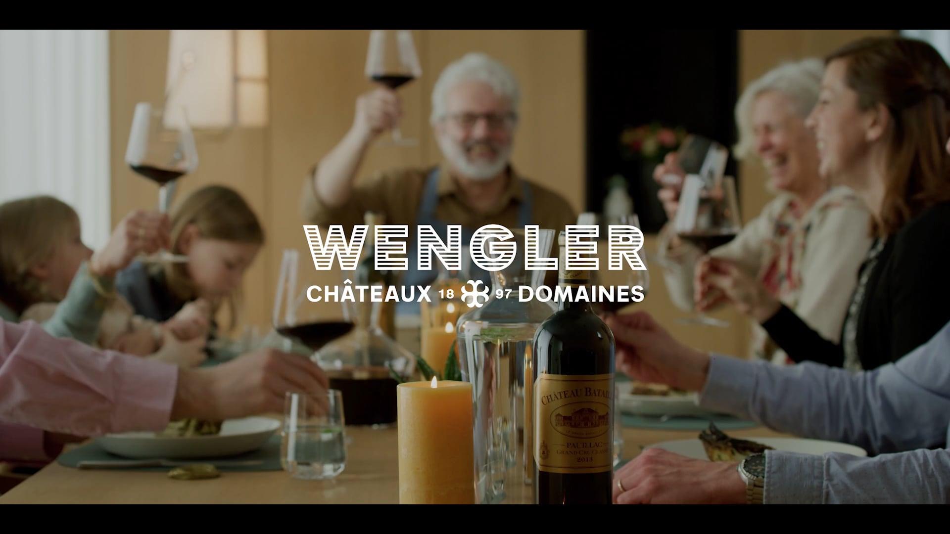 Publicité Wengler Châteaux & Domaines - Refining Moments