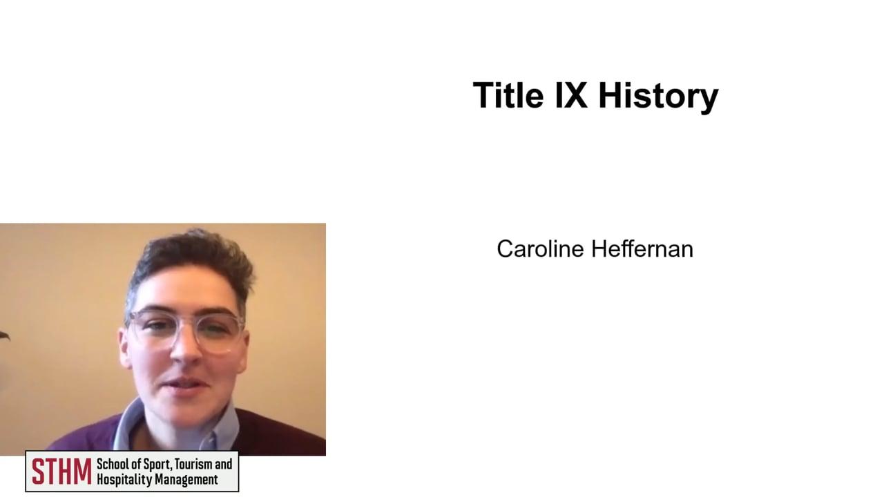 61998Title IX History