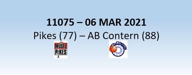 N1H 11075 Musel Pikes (77) - AB Contern (88) 06/03/2021