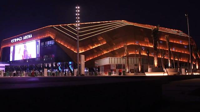 Etihad Arena - Test Event