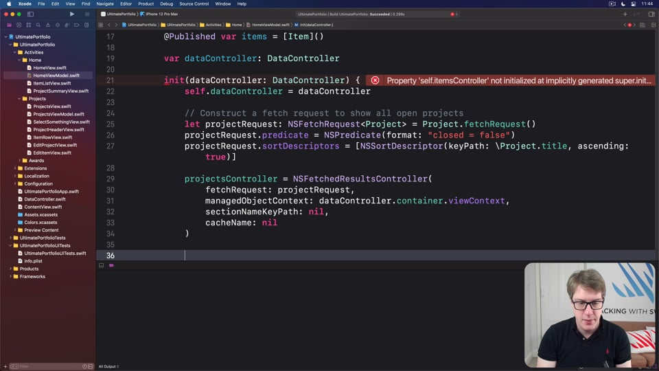 Bringing MVVM into our SwiftUI project, part 2