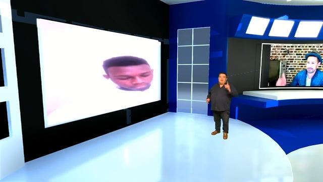 Plateau télé virtuel