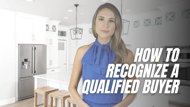 How to Recognize a Qualified Buyer