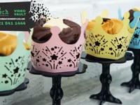 Laser cut Cupcake Stands - Co2 Lasers, Fibre marking machines