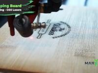 Laser Engraving - Chopping Boards Mantech UK