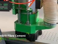 Cembrit Fibre Cement Drilling
