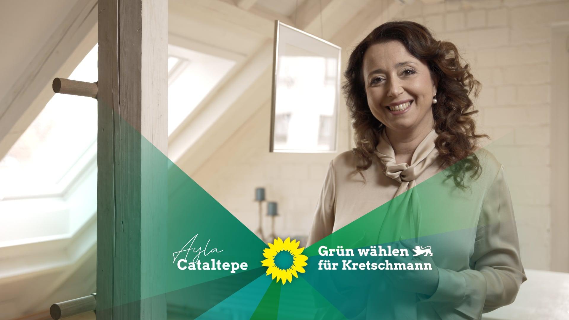 """Landtagskandidatin Ayla Cataltepe (B´90/DIEGRÜNEN) - tv spot """"die grünen"""""""