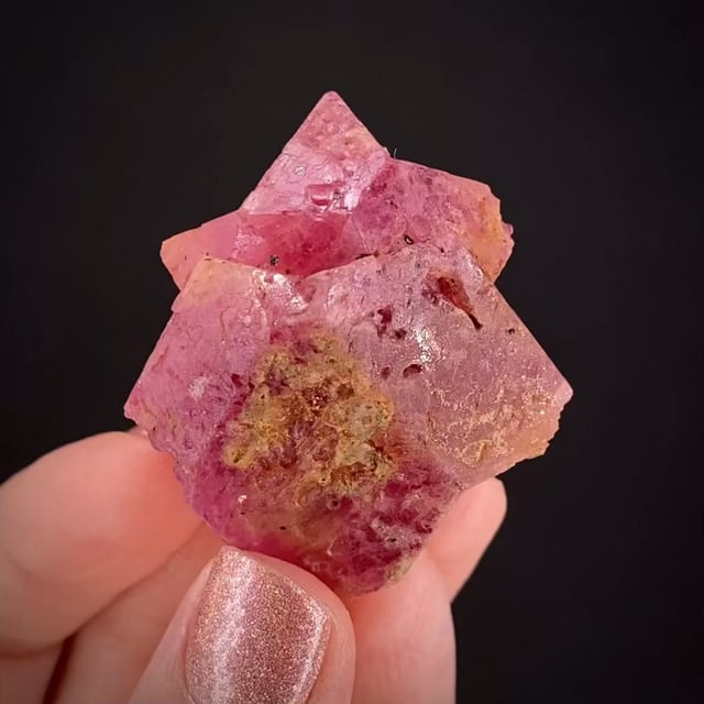 Spinel ('Fiveling' twin)
