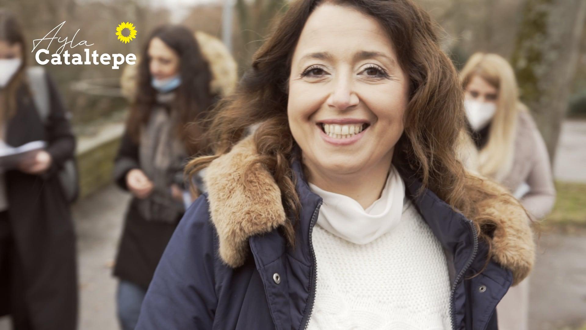 """Landtagskandidatin Ayla Cataltepe (B´90/DIEGRÜNEN) - tv spot """"zusammenhalt"""""""