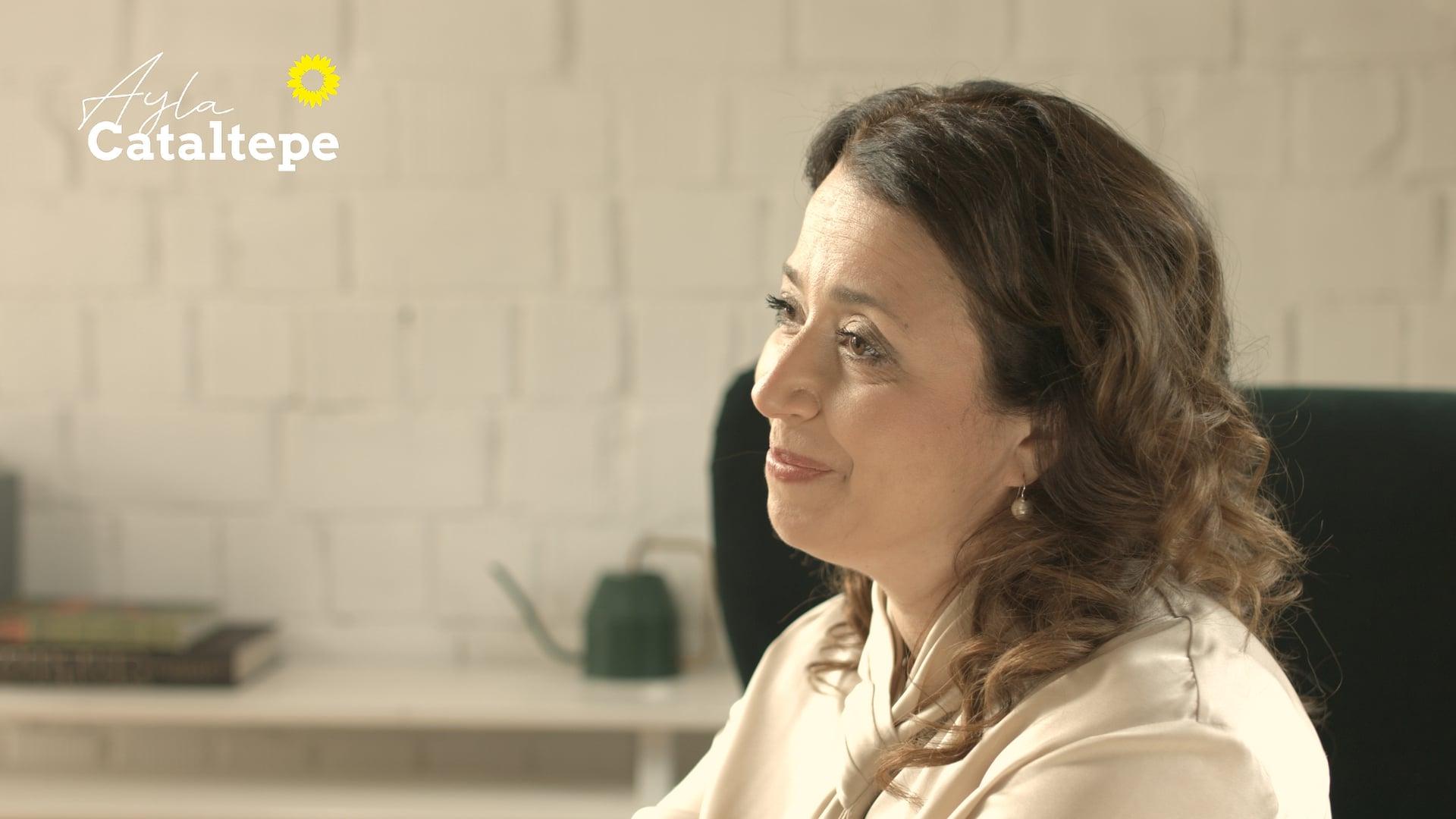 """Landtagskandidatin Ayla Cataltepe (B´90/DIEGRÜNEN) - tv spot """"mut"""""""