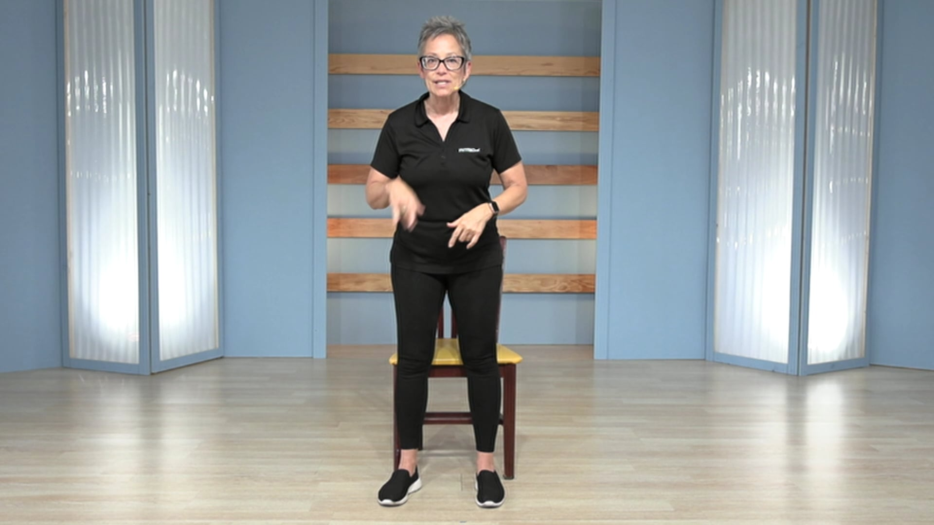 Chair Fitness 10-Minute Leg Workout
