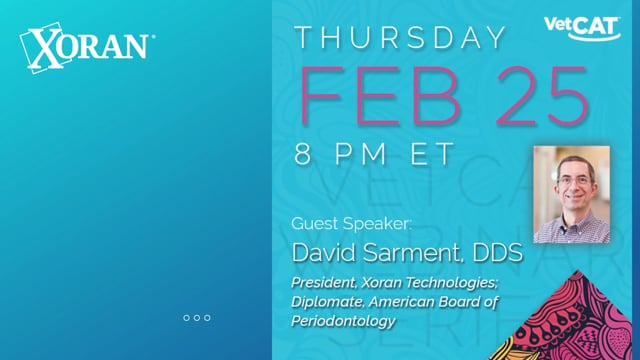 Webinar: Dr. David Sarment - Making the Transition From 2D to 3D