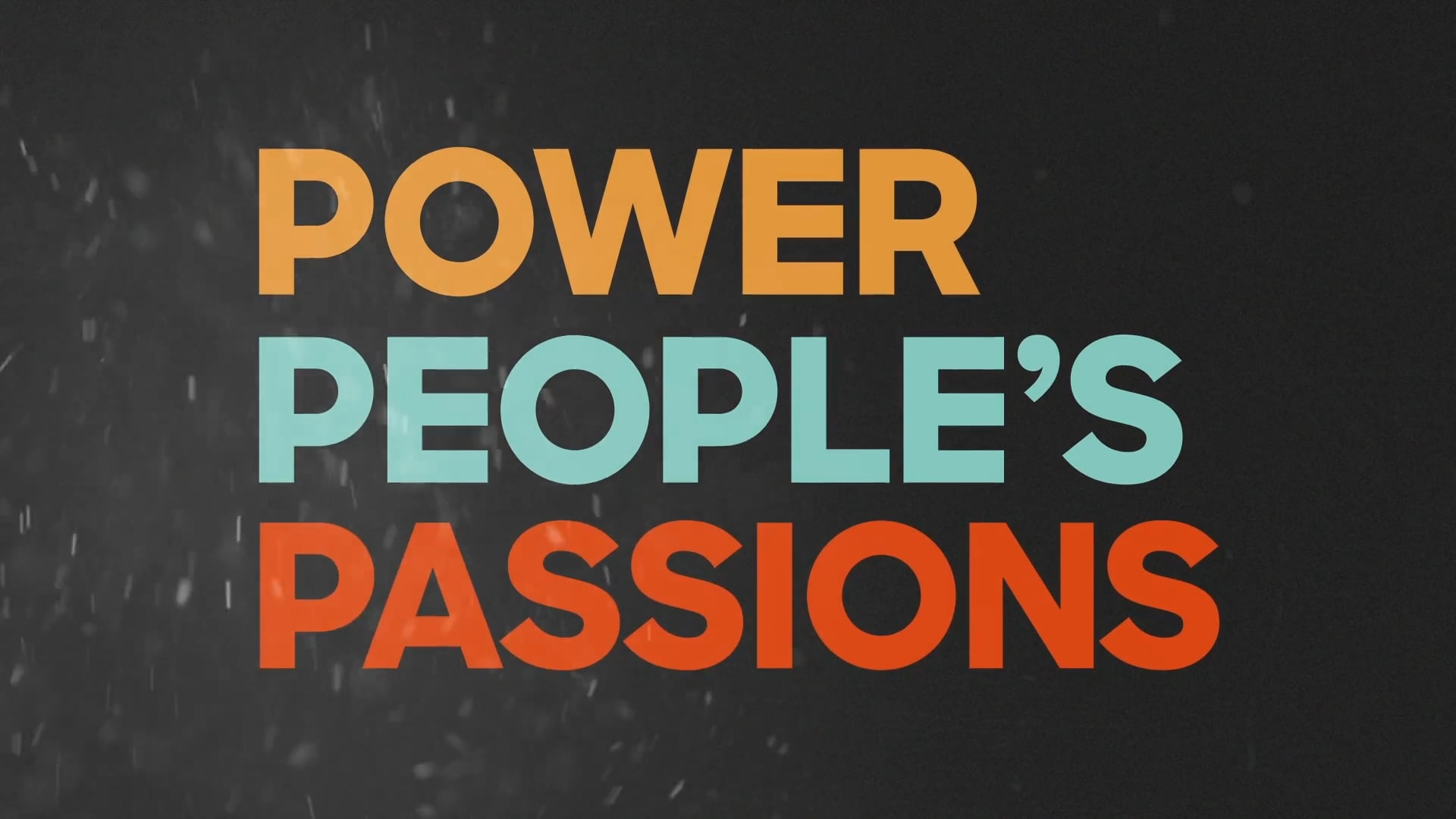 Discovery Power People´s Passions