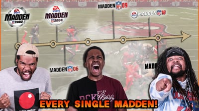 Playing Every Single Madden Game Ever! Day 1