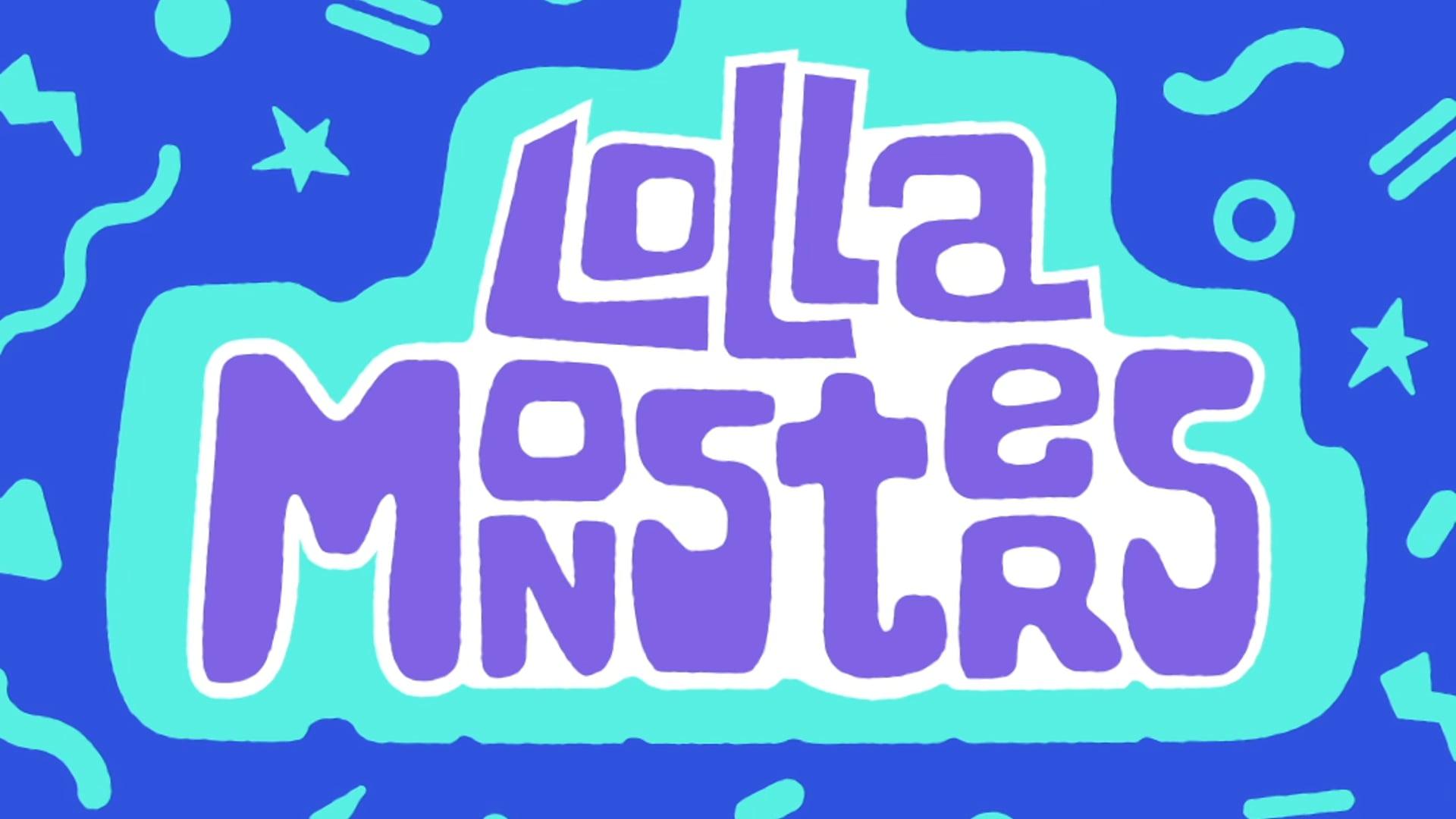 "Lolla Monsters Web Series ""Giant Headphones Toddler"""