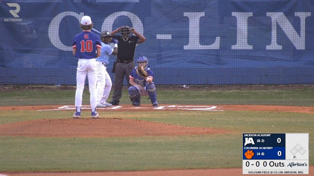 Varsity Baseball vs Columbia Academy - 03-11-21