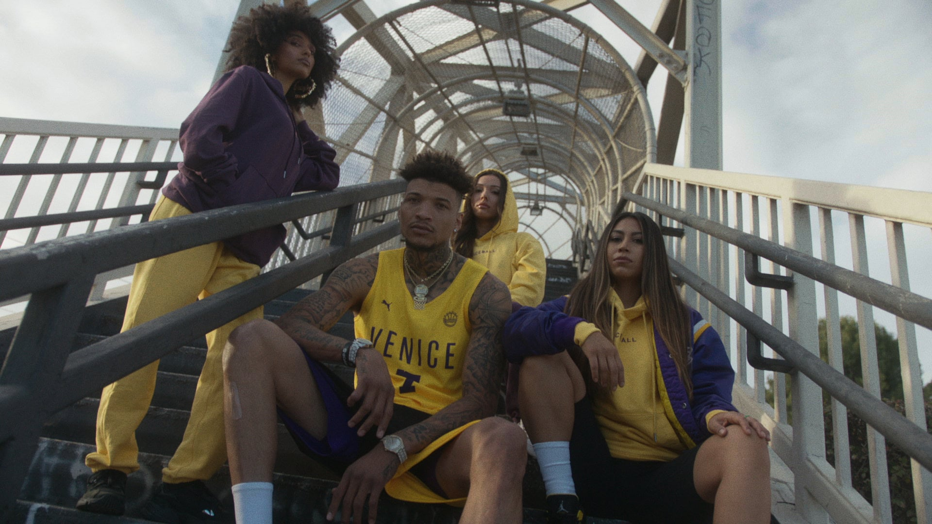 Veniceball - Purple&Gold