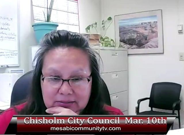 Chisholm March 10 2021