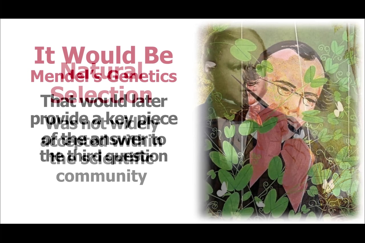 The Missing Piece of Evolution (DNA and the Chemistry of the Cell)