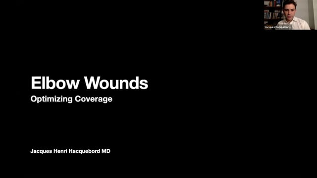 Elbow Wounds – Optimizing Coverage