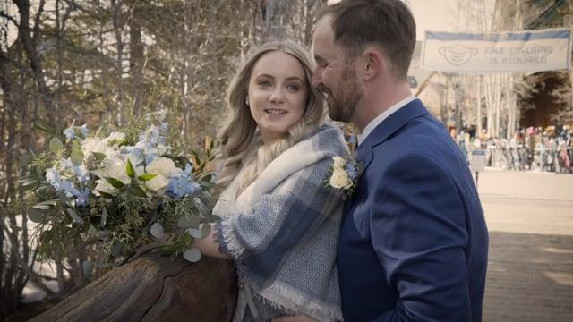 Taylor + Jason Wedding Elopement Highlights - Keystone River Run CO_031221