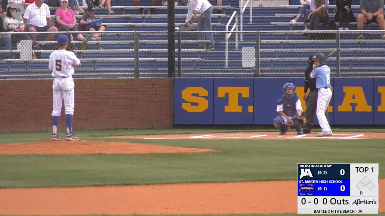 JV Baseball vs St. Martin - 03-15-21