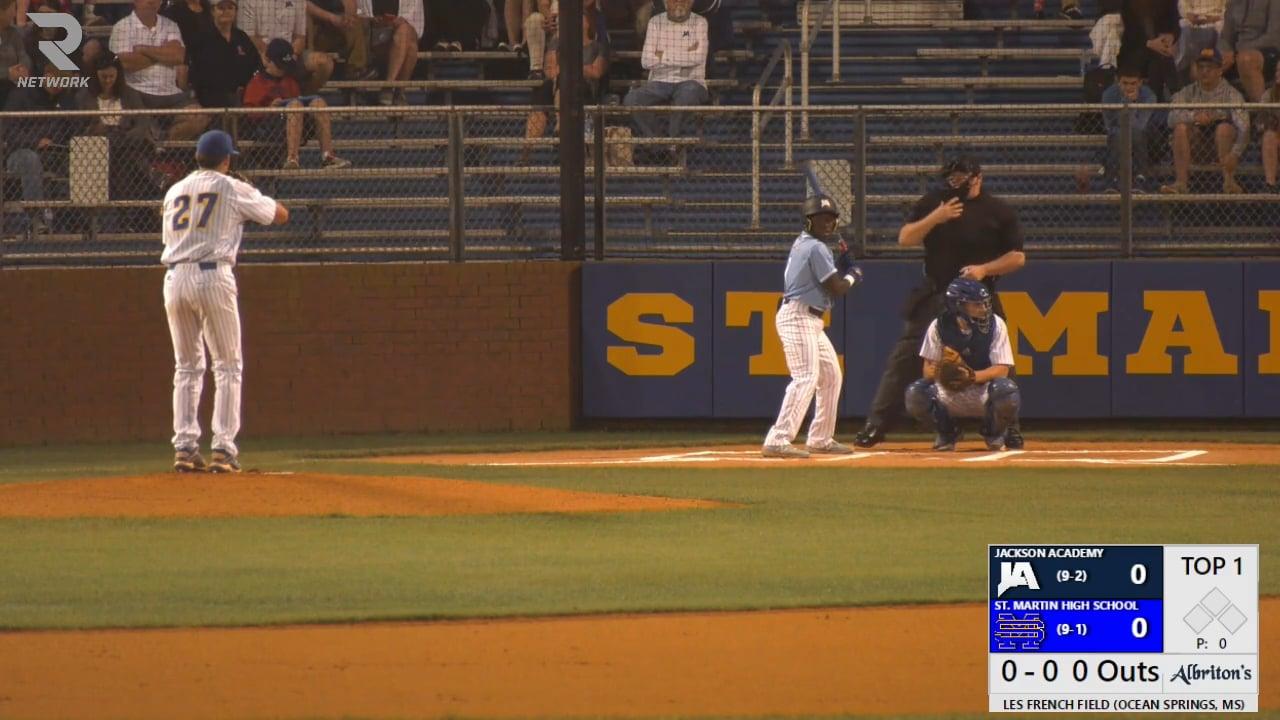 Varsity Baseball vs St. Martin - 03-15-21