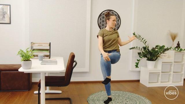 Office-Sonnengruss #07 Rotation
