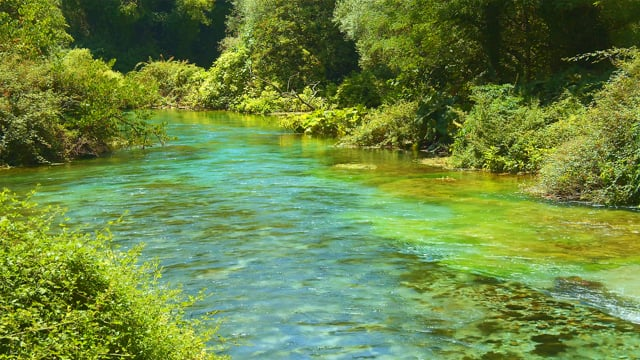Blue Eye, Albania- Nature Relax Video