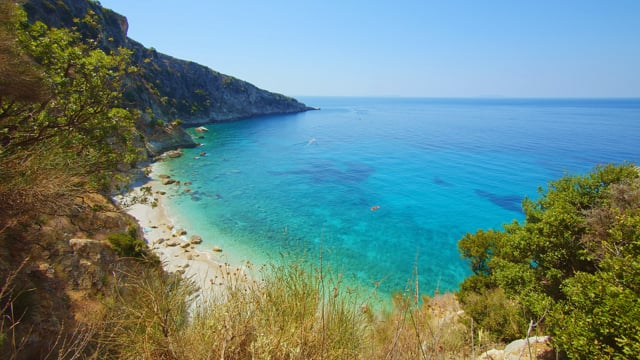 Beautiful Beach Filikuri, Albania - 4K Nature Relax Video