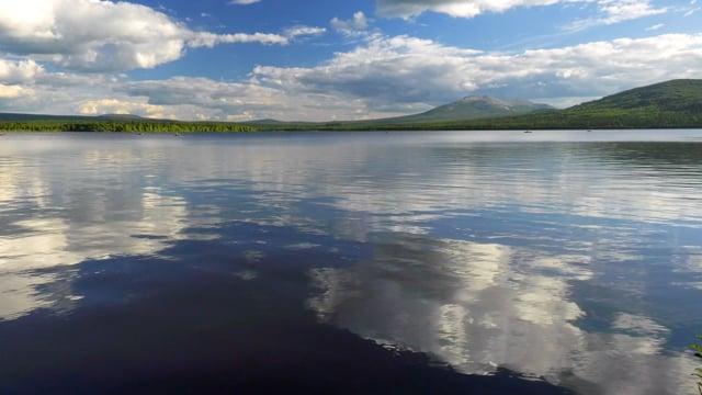Summer Day at Zyuratkul Lake, Chelyabinsk Oblast, Russia - Short Relax Video