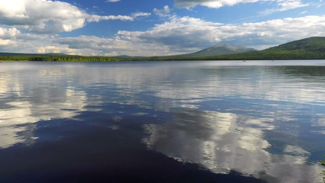 Summer Day at Zyuratkul Lake, Chelyabinsk Oblast, Russia