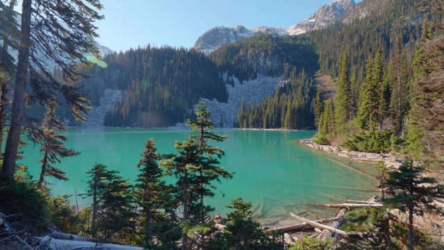 Banff National Park, Canada - 4K Walking Tour, Virtual Hike