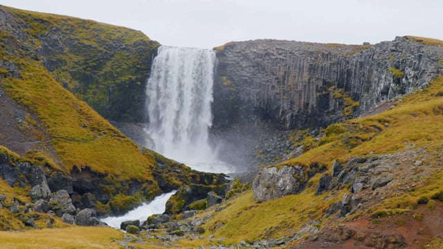 Breathtaking Waterfalls of Iceland. Part 5 - Nature Relax Video in HDR